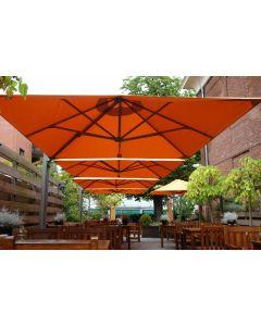P6 Quattro Square All Weather Umbrella